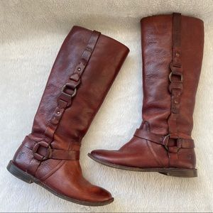 Frye Paige Loop Pull On Tall Boots